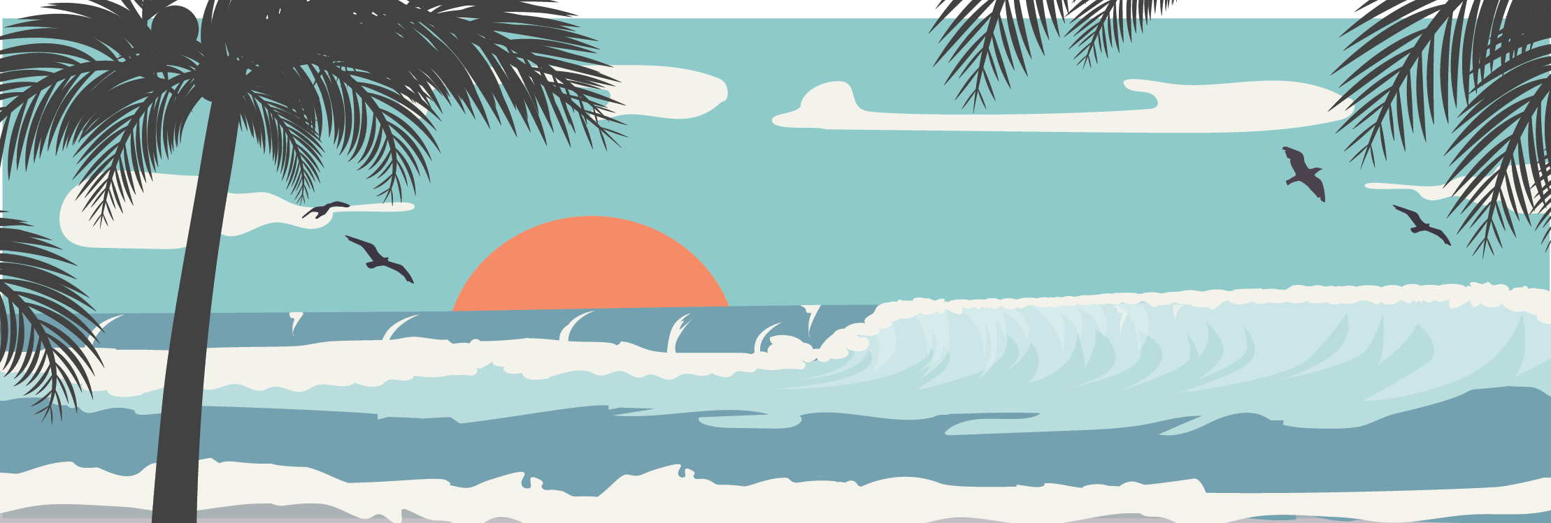 Sun, surf & you and your Mahalo MR1 Ukulele